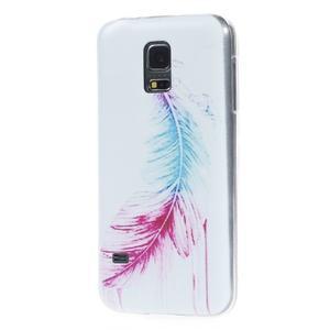 Ultratenký obal pre mobil Samsung Galaxy S5 mini - pierko - 2