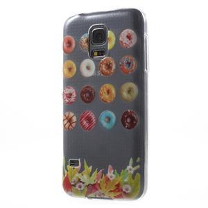 Gélový kryt pre mobil Samsung Galaxy S5 mini - donut - 2