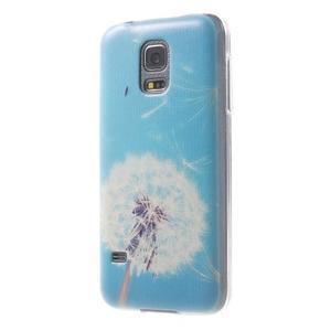 Gelový kryt na mobil Samsung Galaxy S5 mini - pampeliška - 2