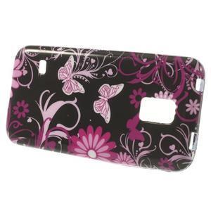 Softy gelový obal na Samsung Galaxy S5 mini - kouzelní motýlci - 2