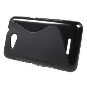 S-line gélový obal pre Sony Xperia E4g - čierny - 2