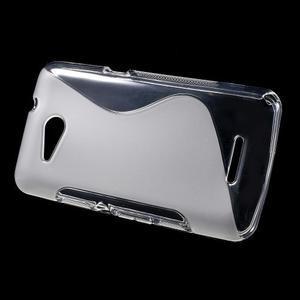 S-line gélový obal pre Sony Xperia E4g - transparentný - 2