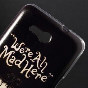 Gélový obal pre Sony Xperia E4g - úsmev - 2