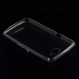 Ultra tenký gélový obal na Sony Xperia E4g - transparentný - 2