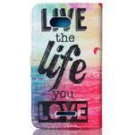 Emotive knížkové pouzdro na Sony Xperia E4g - love - 2/7