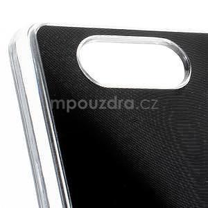 Metalický kryt na Sony Xperia Z3 Compact - černý - 2