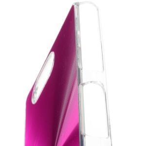 Metalický kryt pre Sony Xperia Z3 Compact - rose - 2