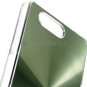 Metalický kryt pre Sony Xperia Z3 Compact - zelený - 2