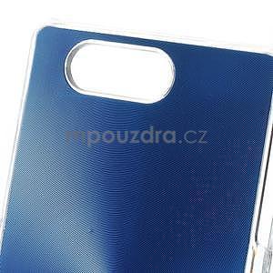 Metalický kryt na Sony Xperia Z3 Compact - modrý - 2