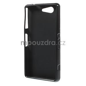 Čierny matný gélový obal pre Sony Xperia Z3 Compact - 2