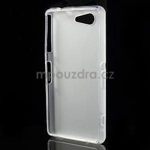 transparentné matný gélový obal pre Sony Xperia Z3 Compact - 2