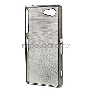 Brúsený obal pre Sony Xperia Z3 Compact D5803 - čierny - 2