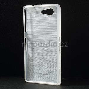 Broušený obal na Sony Xperia Z3 Compact D5803 - bílý - 2