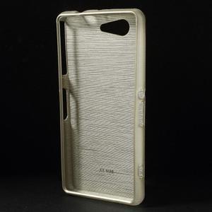 Brúsený obal pre Sony Xperia Z3 Compact D5803 - champagne - 2