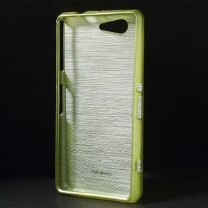 Brúsený obal pre Sony Xperia Z3 Compact D5803 - zelený - 2