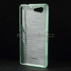 Brúsený obal pre Sony Xperia Z3 Compact D5803 - azurový - 2