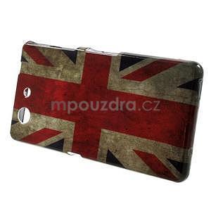 Gélový obal pre Sony Xperia Z3 Compact - UK vlajka - 2