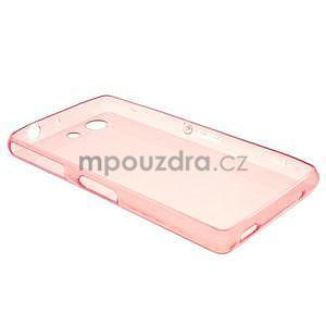 Ultra tenký slim obal pre Sony Xperia Z3 Compact - červený - 2