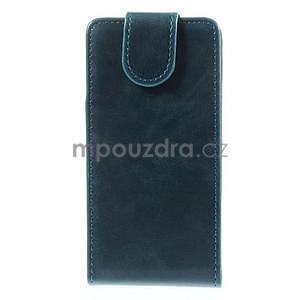 Tmavě modré flipové pouzdro na Sony Xperia Z3 Compact - 2