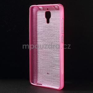 Brúsený kryt pre Xiaomi 4 MI4 - rose - 2