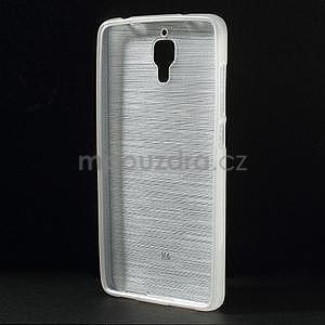 Broušený kryt na Xiaomi 4 MI4 - biely - 2