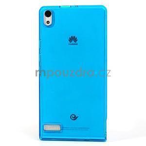 Gélové puzdro na Huawei Ascend P6 - modré - 2
