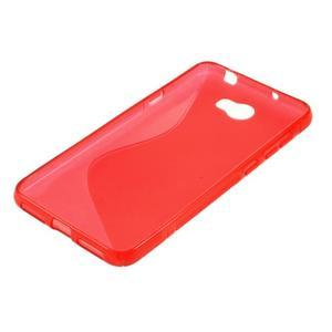 S-line gelový obal na mobil Huawei Y5 II - červený - 2