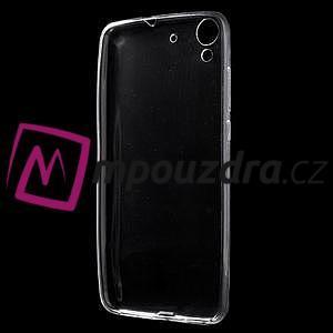 Ultratenký gélový obal pre mobil Huawei Y6 II a Honor 5A - Transparentný - 2