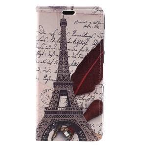 Emotive peňaženkové puzdro na Huawei Y6 II Compact - Eiffelova veža - 2