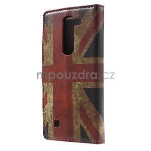 Pěněženkové puzdro na LG G4c H525n - vlajka UK - 2