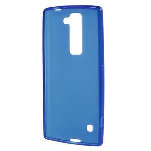Matný gélový kryt pre LG G4c H525n - modrý - 2