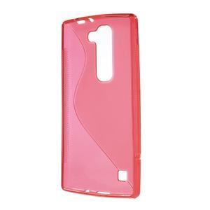 Červený gélový obal S-line na LG G4c H525n - 2