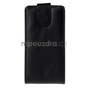 Čierné flipové puzdro pre LG G4c H525n - 2