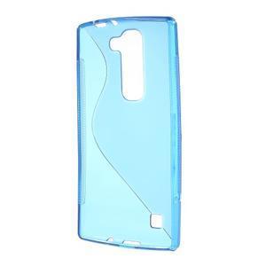 Modrý gélový obal S-line na LG G4c H525n - 2