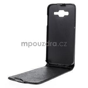Flipové pouzdro na Samsung Galaxy J5 - černé - 2