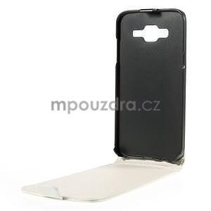 Flipové pouzdro na Samsung Galaxy J5 - bílé - 2