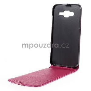 Flipové puzdro pre Samsung Galaxy J5 - rose - 2