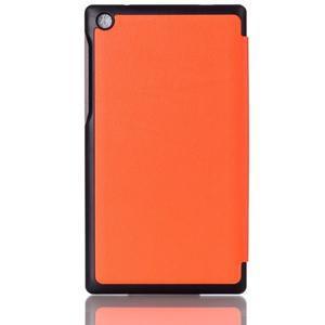 Polohovatelné pouzdro na tablet Lenovo Tab 2 A7-30 - oranžové - 2