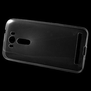 Ultra Tenký slim obal pre Asus Zenfone 2 Laser - transparentný - 2