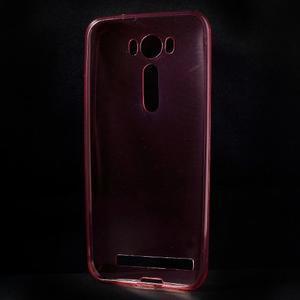 Ultra Tenký slim obal na Asus Zenfone 2 Laser - červený - 2