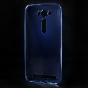 Ultra Tenký slim obal na Asus Zenfone 2 Laser - modrý - 2