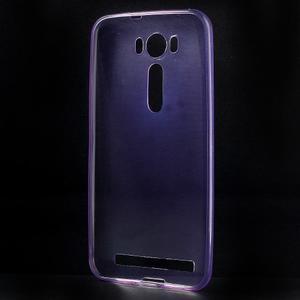 Ultra Tenký slim obal na Asus Zenfone 2 Laser - fialový - 2