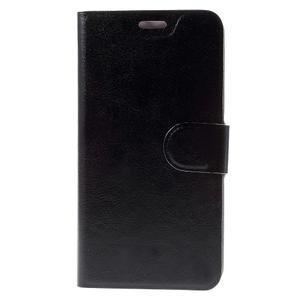 Horse puzdro pre mobil Asus Zenfone 2 Laser - čierne - 2