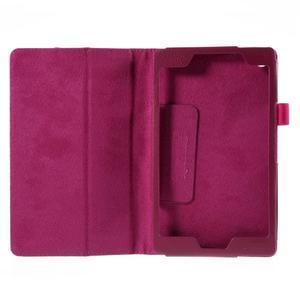 Koženkové puzdro pre tablet Asus ZenPad 7.0 Z370CG - rose - 2
