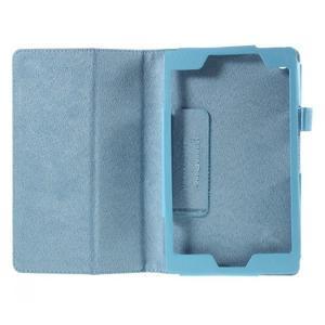 Koženkové puzdro na tablet Asus ZenPad 7.0 Z370CG - svetlomodrý - 2