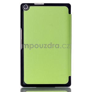 Trojpolohové puzdro pre tablet Asus ZenPad 8.0 Z380C - zelené - 2