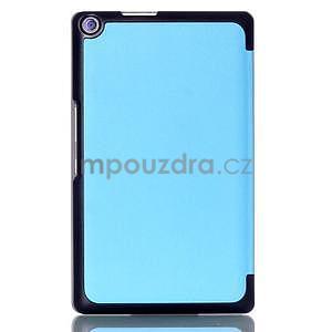 Trojpolohové puzdro na tablet Asus ZenPad 8.0 Z380C - svetlemodré - 2