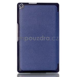 Trojpolohové puzdro pre tablet Asus ZenPad 8.0 Z380C - tmavomodré - 2