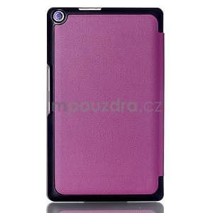 Trojpolohové puzdro na tablet Asus ZenPad 8.0 Z380C - fialové - 2