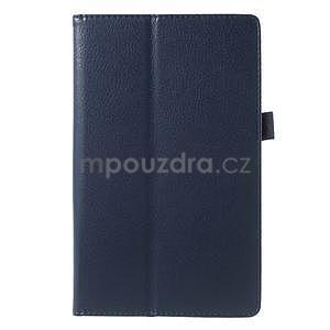 Safety polohovateľné puzdro pre tablet Asus ZenPad 8.0 Z380C - tmavomodré - 2